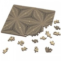 thumb-Puzzle Double Q-Flower - Double-sided Jigsawpuzzle Wood - 123 pieces-1