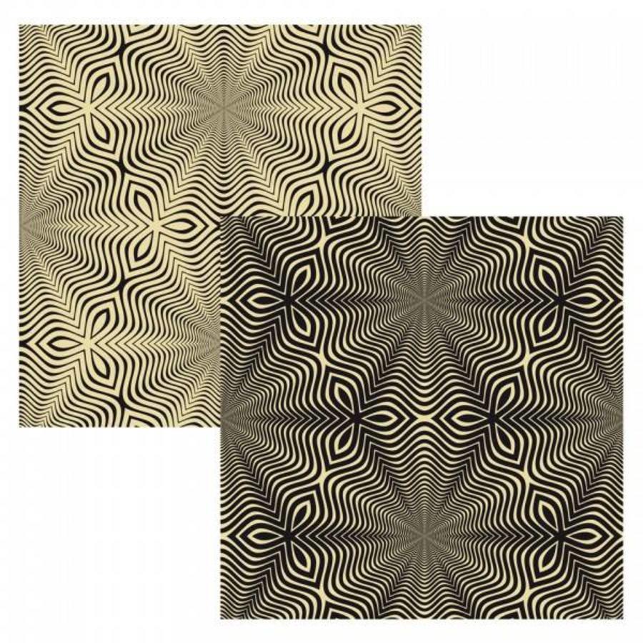 Puzzel Double Q-Flower - Dubbelzijdige puzzel in Hout - 123 stukjes-2