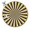 Curiosi Puzzle Double Karussell - Puzzle Ronde Recto-Verso en Bois - 88 pièces