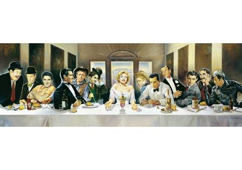 Diner met beroemdheden - 1000 stukjes
