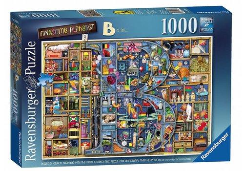 "Adembenemend Alfabet ""B"" - 1000 stukjes"