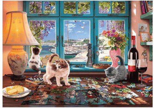 Le bureau du puzzler - 1000 pièces