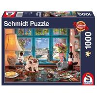 thumb-De puzzeltafel -  puzzel van 1000 stukjes-2