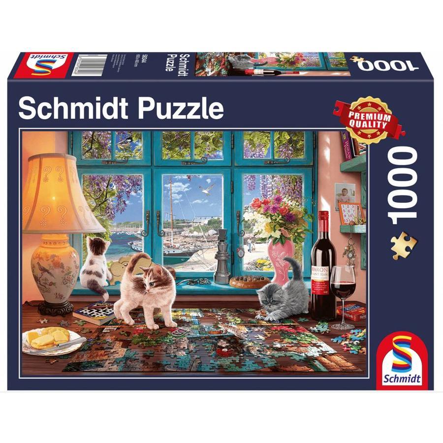 De puzzeltafel -  puzzel van 1000 stukjes-2