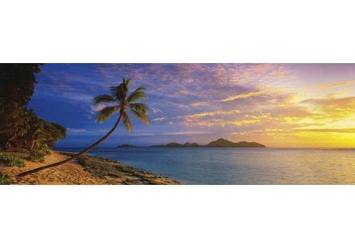 Zonsondergang op de Fiji-eilanden - 1000 stukjes