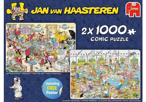 Food Frenzy - JvH - 2x1000 pieces