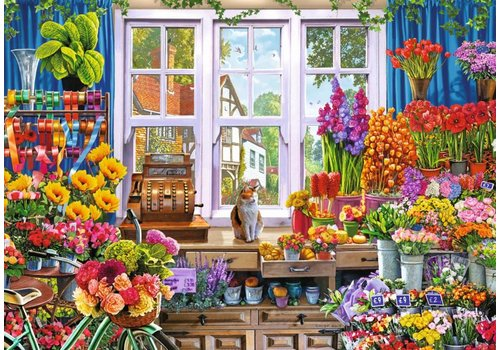 Flora's Flower Shop  - 1000 pieces