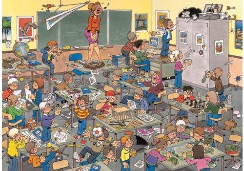 Een muis in de klas! - JvH - 500 stukjes