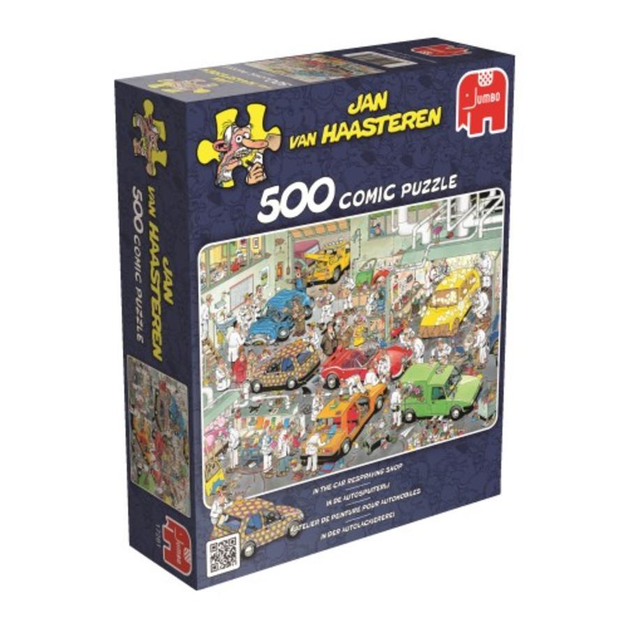 Dans l'atelier de peinture automobile - JVH - 500 pièces-2