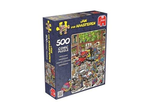 Verkeerschaos - JvH - 500 stukjes