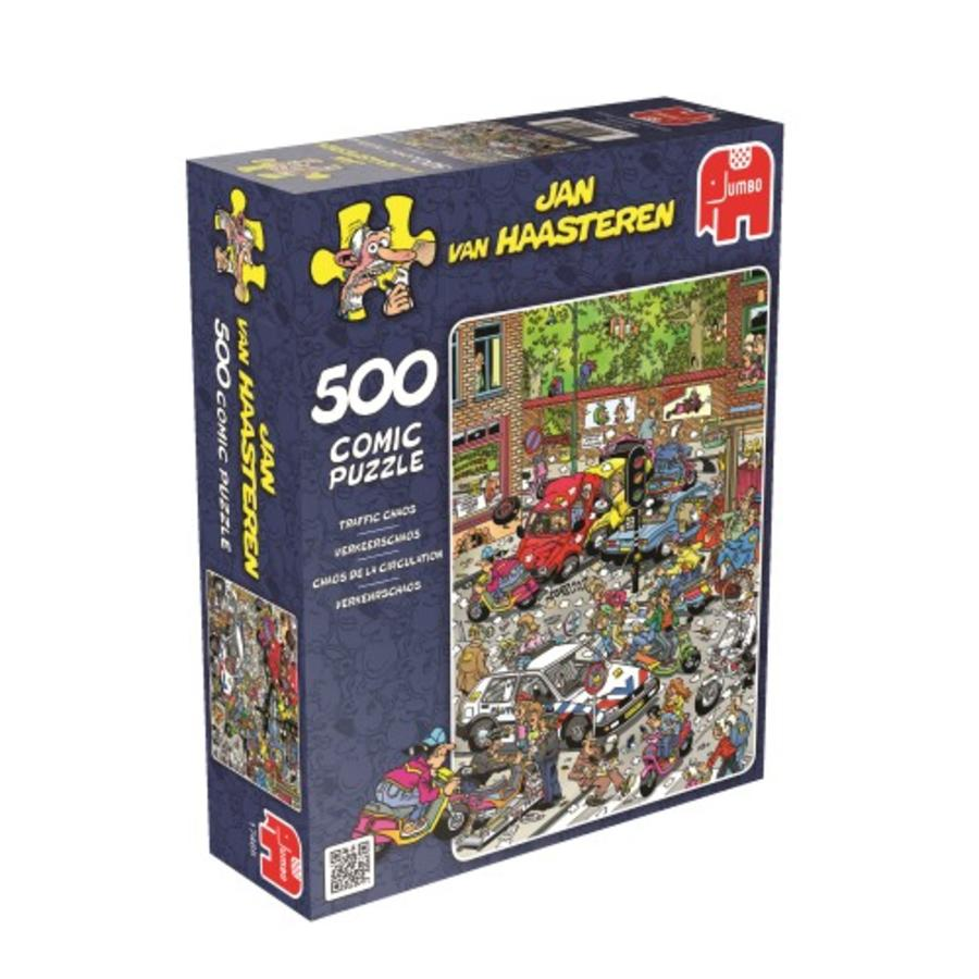 Traffic Chaos - Jan van Haasteren - 500 pièces-1
