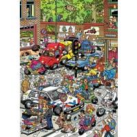 thumb-Traffic Chaos - Jan van Haasteren - 500 pièces-2