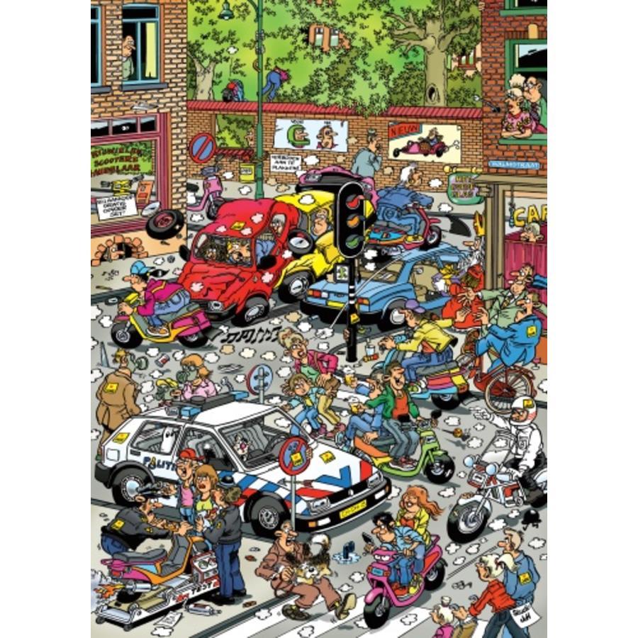 Traffic Chaos - Jan van Haasteren - 500 pièces-2