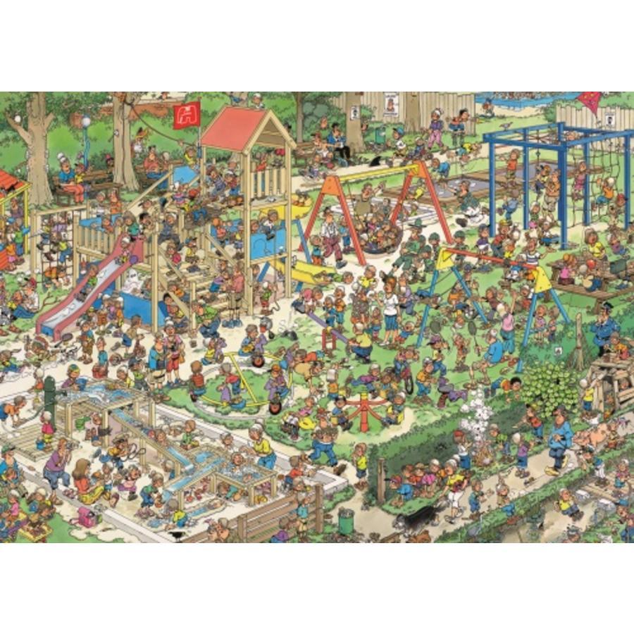 De speeltuin - Jan van Haasteren - 1000 stukjes-2