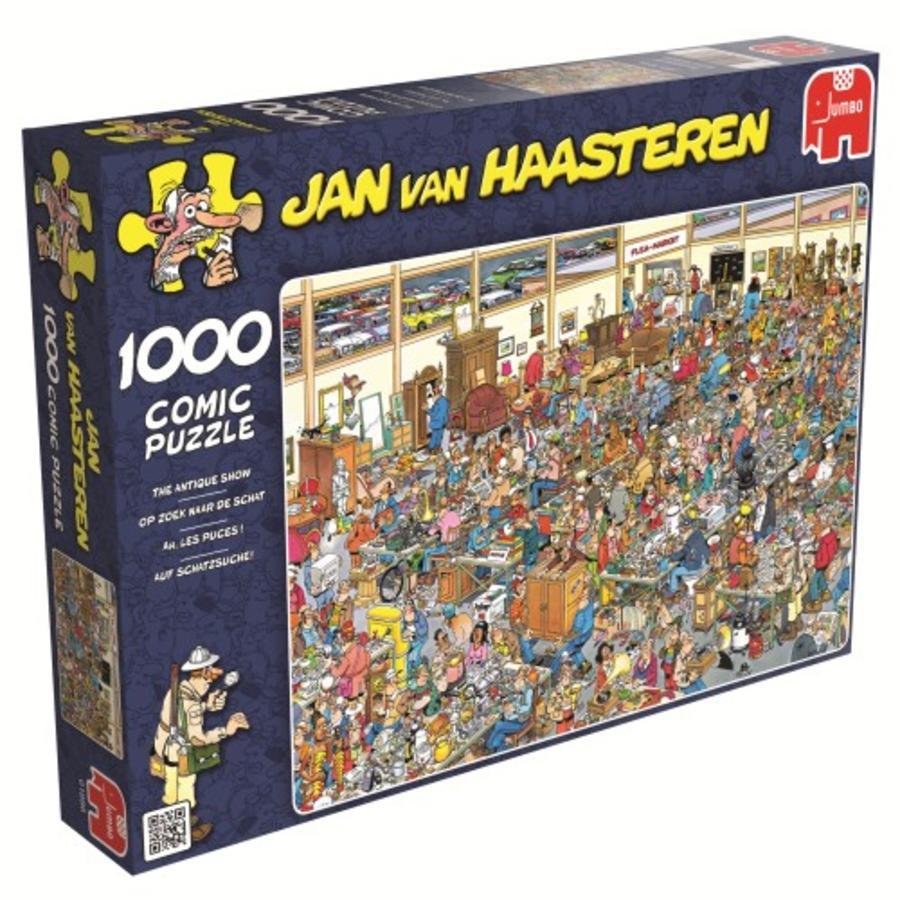 Op zoek naar de schat - Jan van Haasteren - 1000 stukjes-2