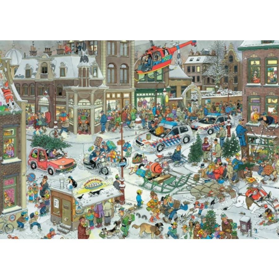 Kerstmis - Jan van Haasteren - 1000 stukjes-1