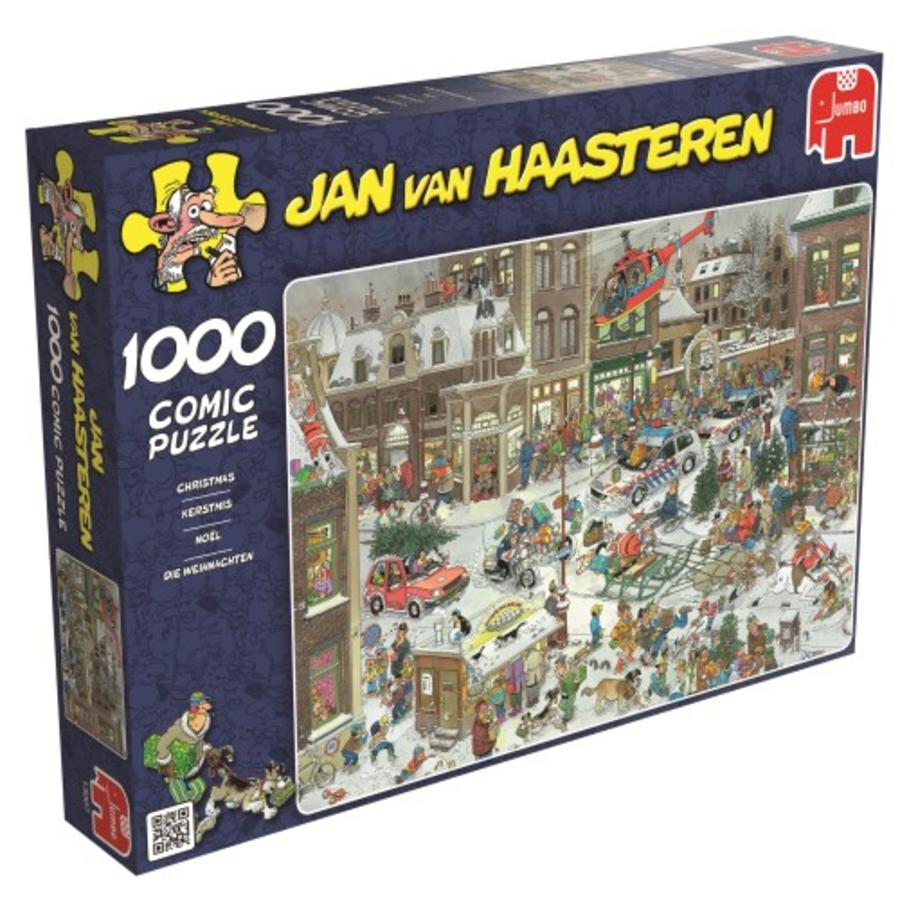 Kerstmis - Jan van Haasteren - 1000 stukjes-2