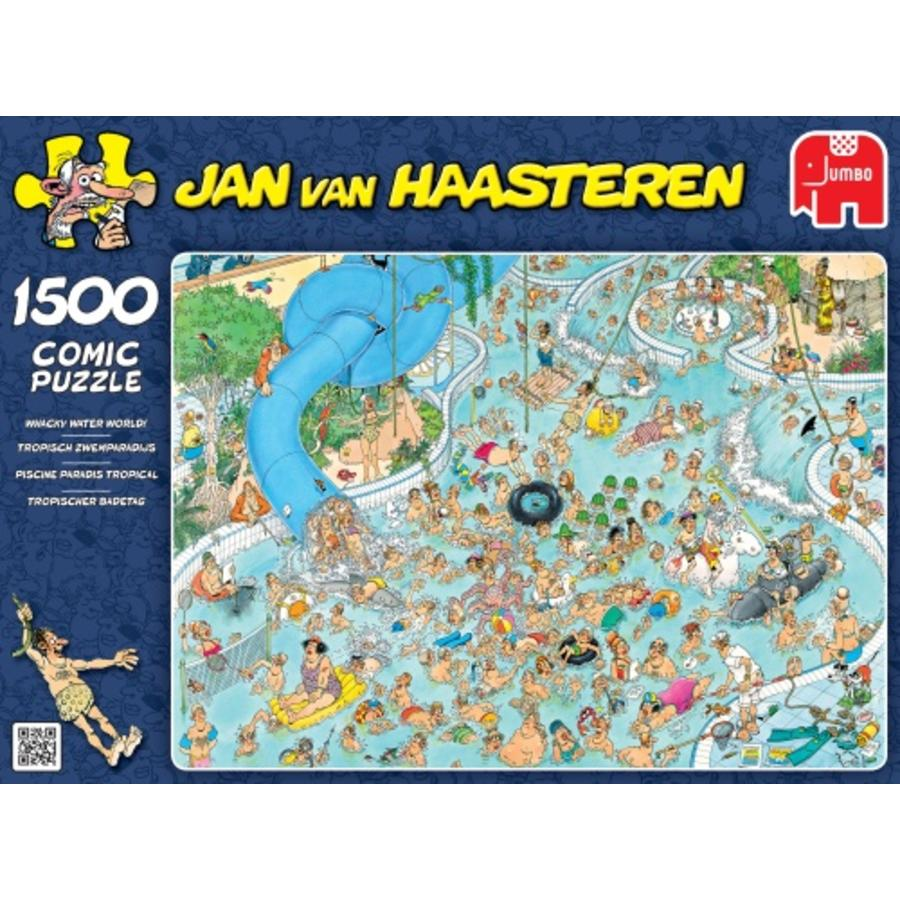 Tropical swimming paradise - JvH - 1500 pieces-2