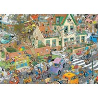 thumb-Safari & Storm - Jan van Haasteren - 2x1000 stukjes-2