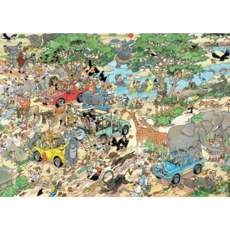 Safari & Storm - Jan van Haasteren - 2x1000 stukjes-3
