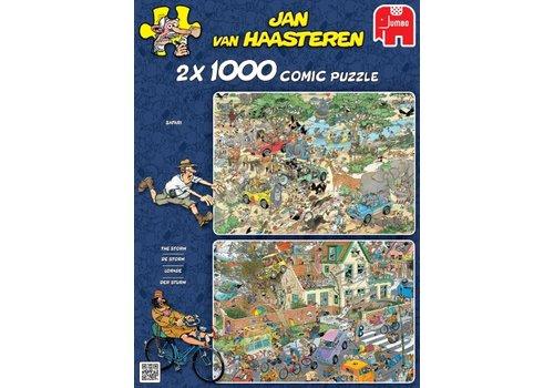 Jumbo Safari & Storm - JvH - 2x1000 pièces