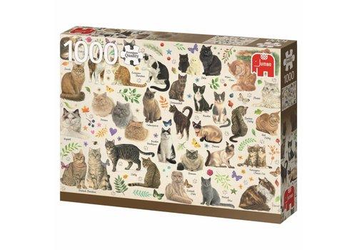 Affiche des chats  - 1000 pièces