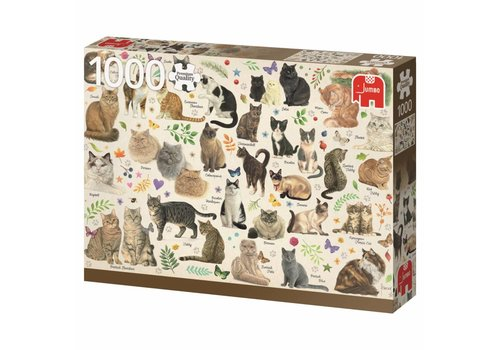 Cats Poster - 1000 pieces