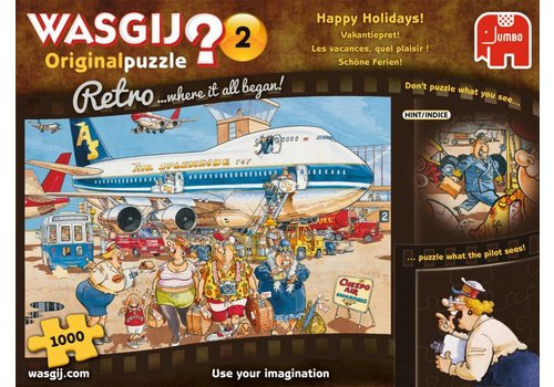Wasgij Original 2 Retro - 1000 pieces