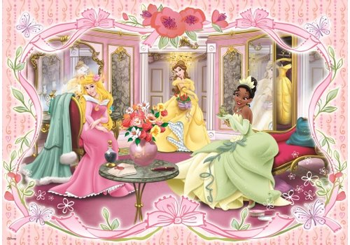 Prinsesjes in het kasteel - 100 stukjes