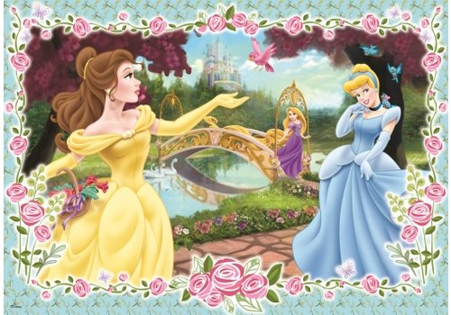Prinsesjes aan het water-100 stukjes