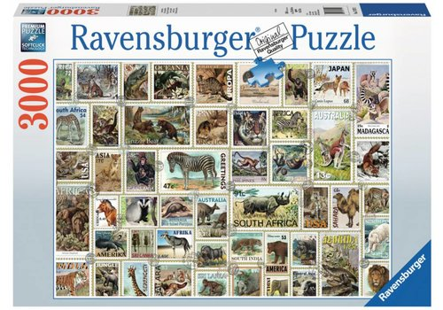 Animal Stamps - 3000 pieces