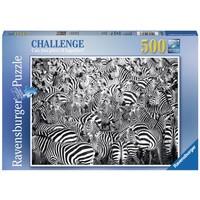 thumb-Zebra Challenge - puzzle of 500 pieces-2