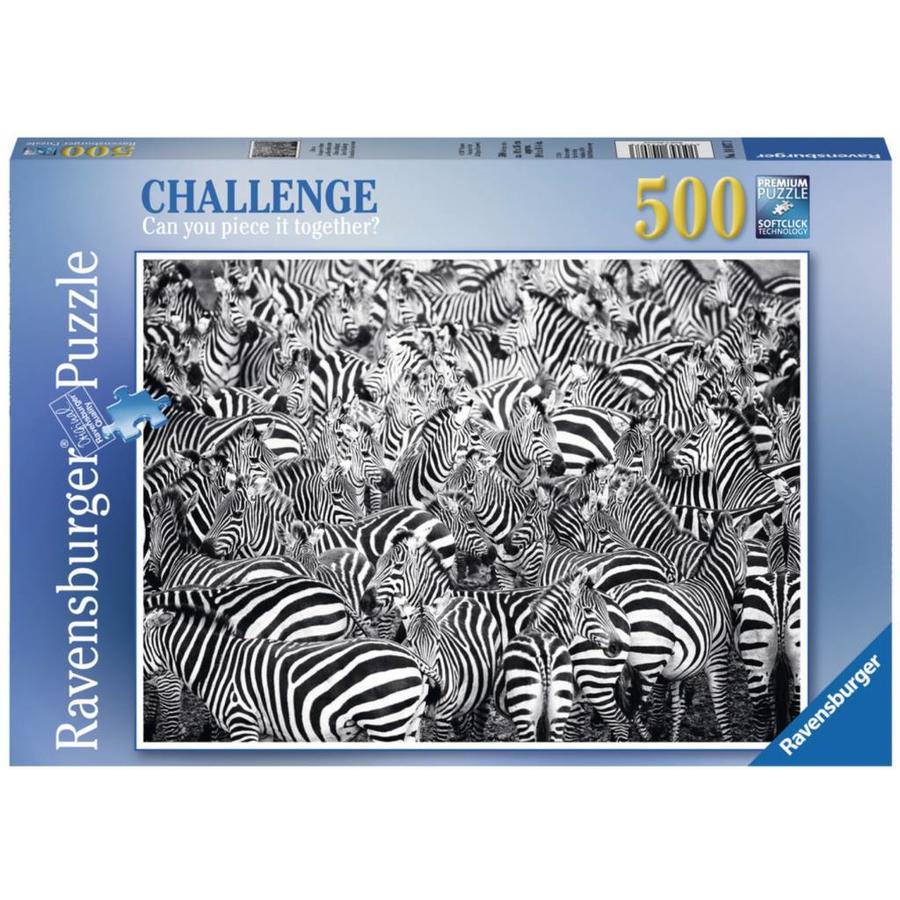 Zebra Challenge - puzzle of 500 pieces-2