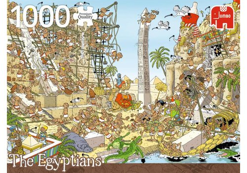 Piece of history - The Egyptians - 1000 pieces