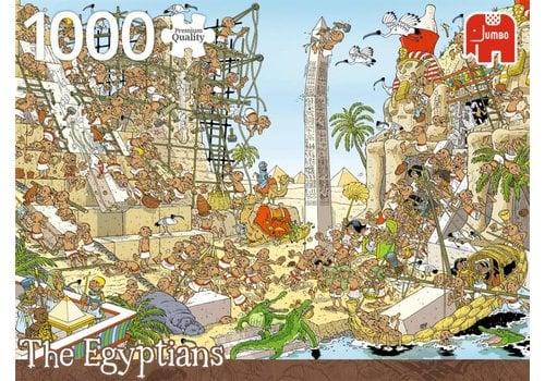 Stukje geschiedenis - De Egyptenaren - 1000 stukjes