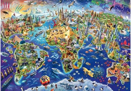 Ontdek onze wereld - 1000 stukjes