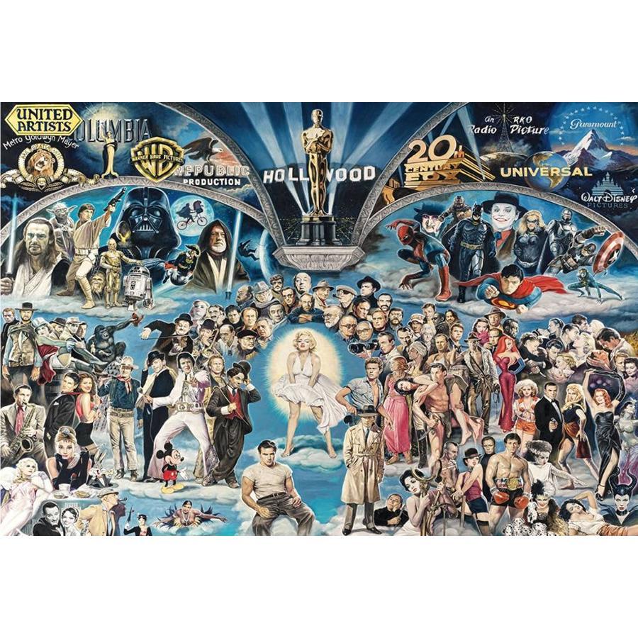 Hollywood - puzzel van 1000 stukjes-1