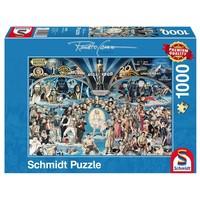 thumb-Hollywood - puzzel van 1000 stukjes-2