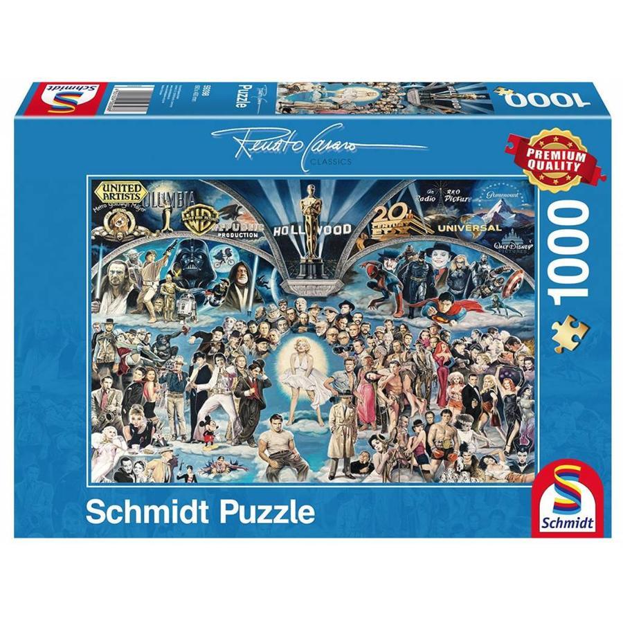 Hollywood - puzzel van 1000 stukjes-2