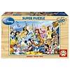 Educa HOUT: De magische wereld van Disney - 100 stukjes