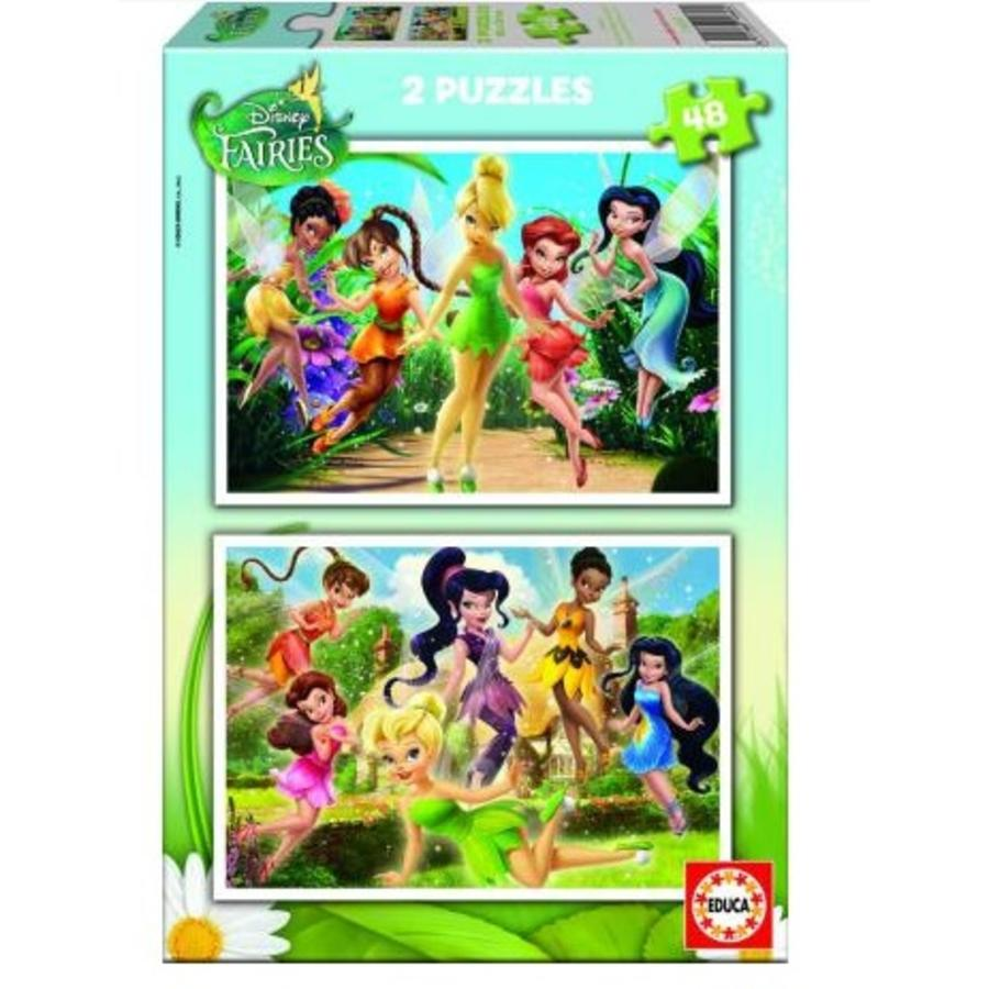 Tinker bell - 2 x 48 pieces-1