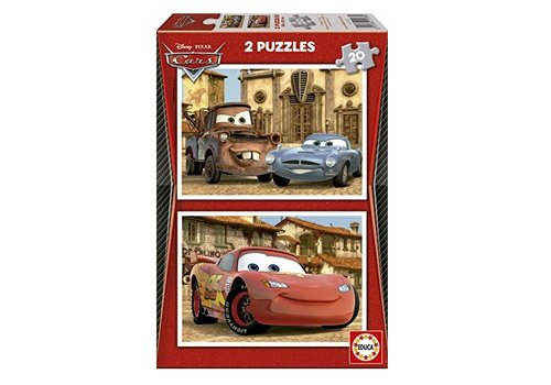 Educa Cars in sight - 2 x 20 pieces