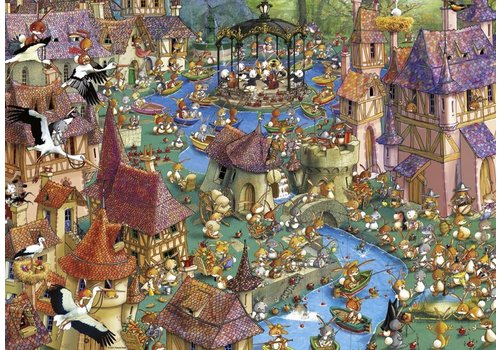 Ville lapin - Ruyer - 1000 pièces