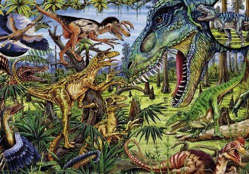 Dino's - Carnivoren - 500 stukjes