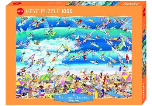 Le surf - 1000 pièces