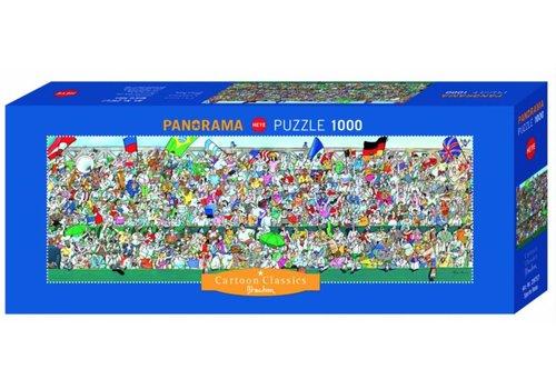 Les supporters sportifs - 1000 pièces