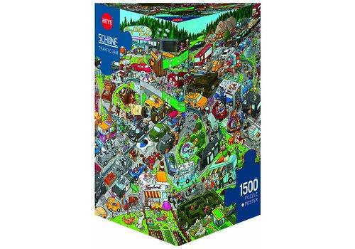 In de file - 1500 stukjes