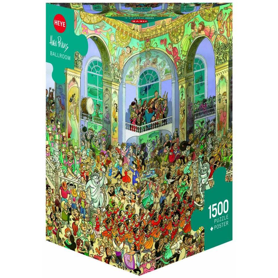 Balzaal - puzzel van 1500 stukjes-1