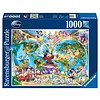 Ravensburger Disney's World Map - jigsaw puzzle of 1000 pieces