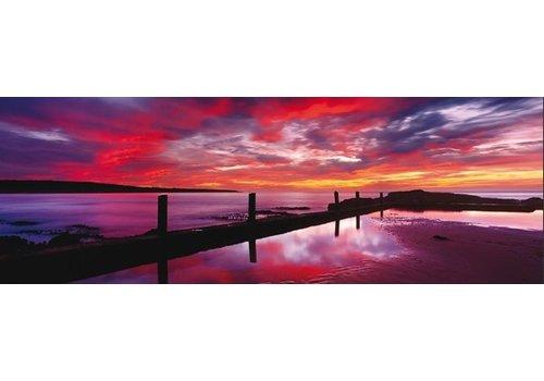 Rode zonsondergang in Australië - 1000 stukjes